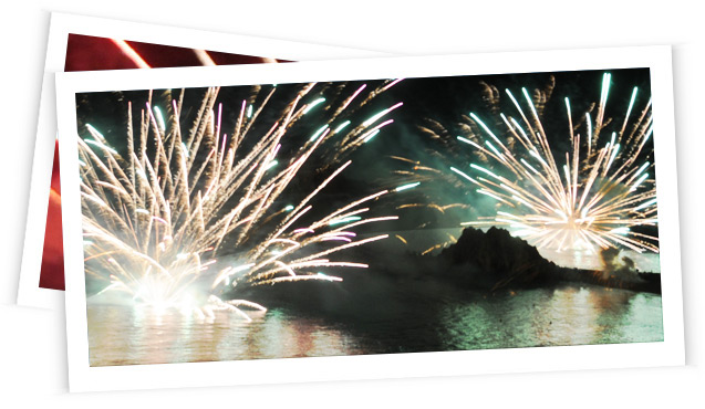 Enjoy the fireworks in Blanes with Dofi Jet Boats